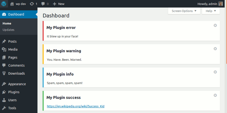 How to hide admin notices for a specific role in WordPress